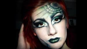 witch web spider makeup
