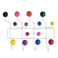 Eames Coat Rack Replica Custom Lch Eames Hang It All Replica Wall Mounted Coat Rack With Painted