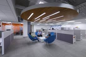 office decoration. open office ceiling decoration idea