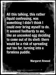best infj images introvert quotes introvert quote from the edible w by margaret atwood perfectly captures an introvert s view of