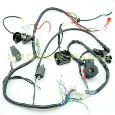 complete electrics atv quad 200cc 250cc cdi coil wiring harness complete electrics atv quad 250cc 200cc cdi wiring harness zongshen lifan