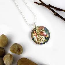 handmade glass pendants kathy lycka