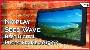 nixplay seed wave best digital photo frame 2019 apex legends new gpu or monitor first usb 4 0