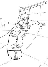 skateboard coloring pages playing skateboard coloring page skateboard coloring pages free