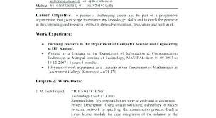 career objective of resume career objective for testing resume sample sample resume