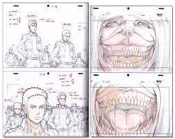 1 on an shingeki no kyojin drawing for animation vol