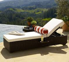 chaise lounge chair outdoor. Lovely Adjustable Patio Chaise Lounge White Cushion Gray Metal Within Outdoor Pool Furniture Chair A