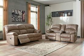 reclining living room furniture sets. Dunwell 2-Piece Power Recliner Living Room Set In Driftwood Reclining Furniture Sets