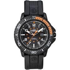 timex men s expedition uplander black orange watch black resin timex men s expedition uplander black orange watch black resin strap