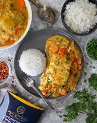 Thai Yellow Curry with Mahi Mahi Recipe ...