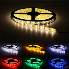 Cool White Led Tape Light Waterproof Ip65 300 Led 5m 5050 Smd Flexible Led Strip Light Cool White Warm White 60leds M Led Tape Striplights Strip Lights Led From Ok360 3 33