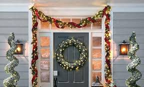 hang wreath on brick how to hang garland on a stone house around front door with command hooks brick how to hang heavy wreath on brick