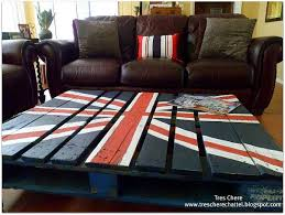 british flag furniture. Pallet Coffee Table With British Flag Painted Also Uk Union Jack Styles Furniture
