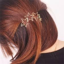 Popular Ladies Girls <b>Hollow</b> Hairpin Star Tassel | Shopee Philippines