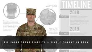 Air Force Transitions To A Single Combat Uniform U S Air