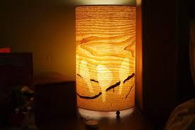 wood veneer lighting. bird lamp wood veneer lighting