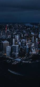 Iphone Wallpaper New york city aerial ...
