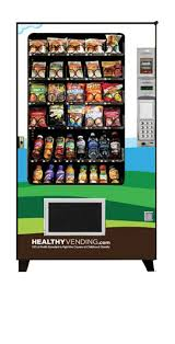 Owning A Vending Machine Gorgeous Healthy Vending Machines Healthy Snack Vending Machines