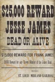 Authentic Wanted Posters The Last Best West
