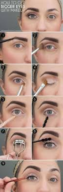 33 makeup tips and tricks to make you look less tired make your eyes look