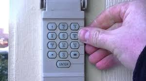 garage door code how to reset your garage door keypad pin number change opener code repair