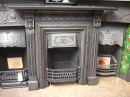074lc victorian cast iron fireplace leeds