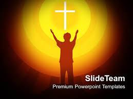 Christian Templates Jesus Christ Bible Powerpoint Templates Spirituality