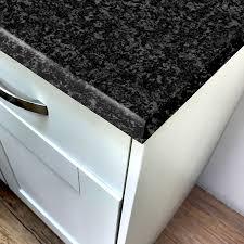 pro top black granite crystal laminate kitchen worktops