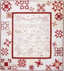 113 best Patchwork Quilts - Christmas & Winter images on Pinterest ... & embroidered-quilt-pattern-winter-wonderland Adamdwight.com