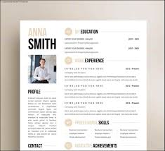 031 Simple Creative Resume Template Free Download Ideas