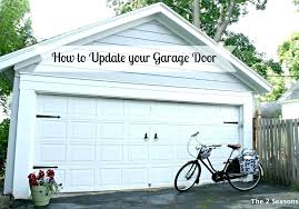 garage door update how to update a garage door updating your garage door garage door update kit faux wood garage door update with stain