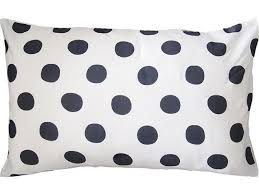 Polka Dot Pillowcases Custom Polka Dots Pillow Case In 'Charcoal' 32