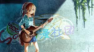 Anime Girl Guitar Grafitti 4k, HD Anime ...