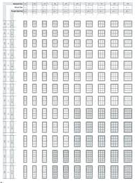 Andersen Fixed Window Size Chart Andersen Window Size Chart Soalmatematika Co