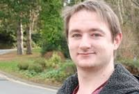 PhD student Joseph Keenan. Researchers at Aberystwyth University are looking into the benefits of using telehealth technology with terminally ill patients ... - joseph-keenan---web