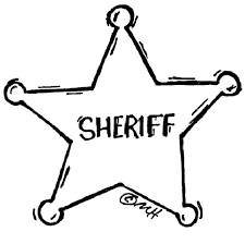 Police Coloring Pages Sheriff Badges Coloring Pages Police Colouring