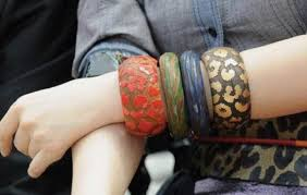 5 unfinished wood round dome bracelets diameter large wide bangles blanks wood diy jewelry supply
