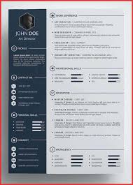 Creative Resume Templates For Microsoft Word Awesome Creative Resume Templates New Best Free In Word Formats Template