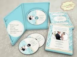 Wedding Dvd Template Elegant Wedding Dvd Template Photoshop Templates Cpz015 Etsy