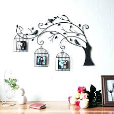 birds for wall decor ideas metal flying two kookaburras on a home bird  birdcage art artwork