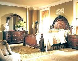 Antique Black Bedroom Furniture Custom Decoration