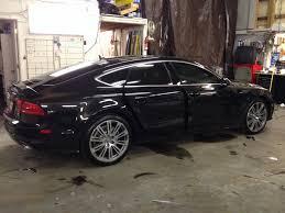 audi a7 2014 black. 2014 audi a7 tint black luxury car