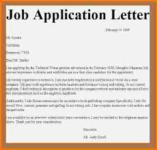 Best Ideas Of Formal Letter Example For Job Application Fabulous
