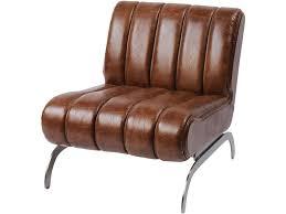 corsair vintage brown leather car style chair