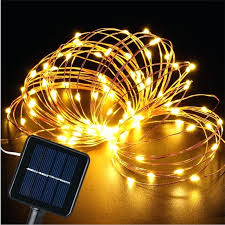 100 outdoor solar led string lights plusfoamco