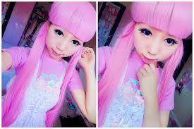 how to look like a doll kawaii enlarge doll eye makeup tutorial you