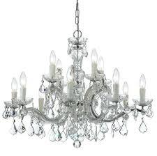 maria theresa 6 light crystal chandelier together with maria light clear crystal chrome chandelier i maria