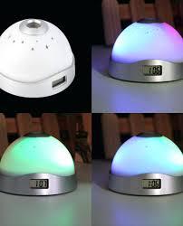 alarm clock with light magic led projection alarm clock night light starry sky star digital color