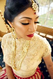indian bridal makeup bridal makeup red lips wing liner sabyasachi bride