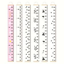 Child Size Chart Us 7 5 25 Off Nordic Style Baby Child Kids Height Ruler Kids Growth Size Chart Height Measure Ruler For Kids Room Home Hanging Decoration In Party